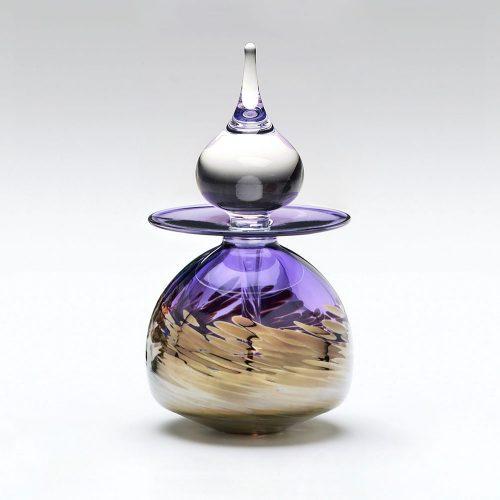 Purple Perfume Bottle Timbuktu