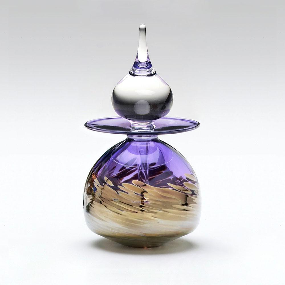 Purple Perfume Bottle   'Timbuktu' by Michael Trimpol ...