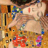 Gustav Klimt Art Kiss