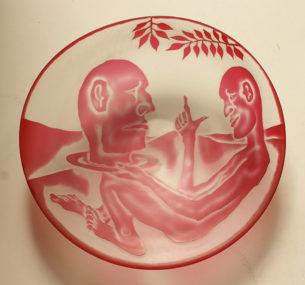 Decorative Glass Platters