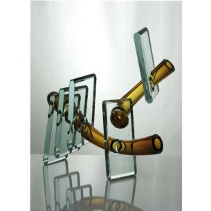 Cold Glass Sculpture