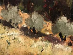 Eugene Sandrini Impressionist Painting Brushwork