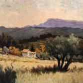 Eugene Sandrini Impressionist Painting for sale