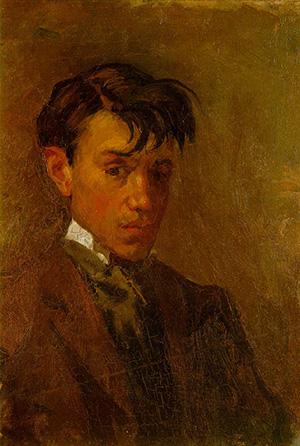 Pablo Picasso Art Self-Portrait