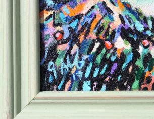 Gavin Meynell Impressionist painting signature