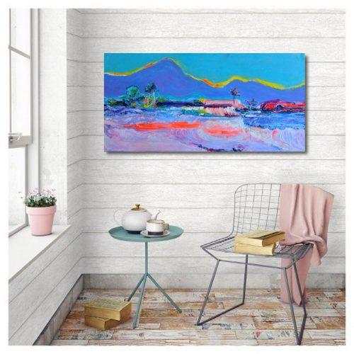 Mary Kirova Impressionist painting for sale Summer Vibes