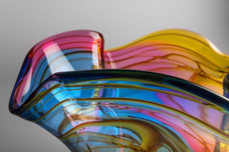 Beautiful Glass Bowl Adam Jablonski