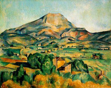Paul Cezanne Art Mont Sainte Victoire