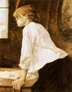Toulouse Lautrec Art Blanchisseuse