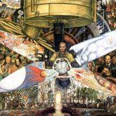 Diego Rivera Art Man at the Crossroads