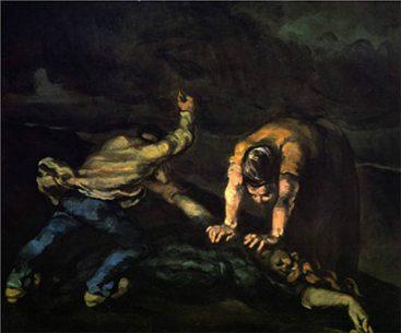 Paul Cezanne Art The Murder