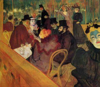 Toulouse Lautrec Art Moulin Rouge
