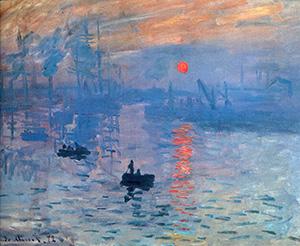Claude Monet Art impressionism sunrise