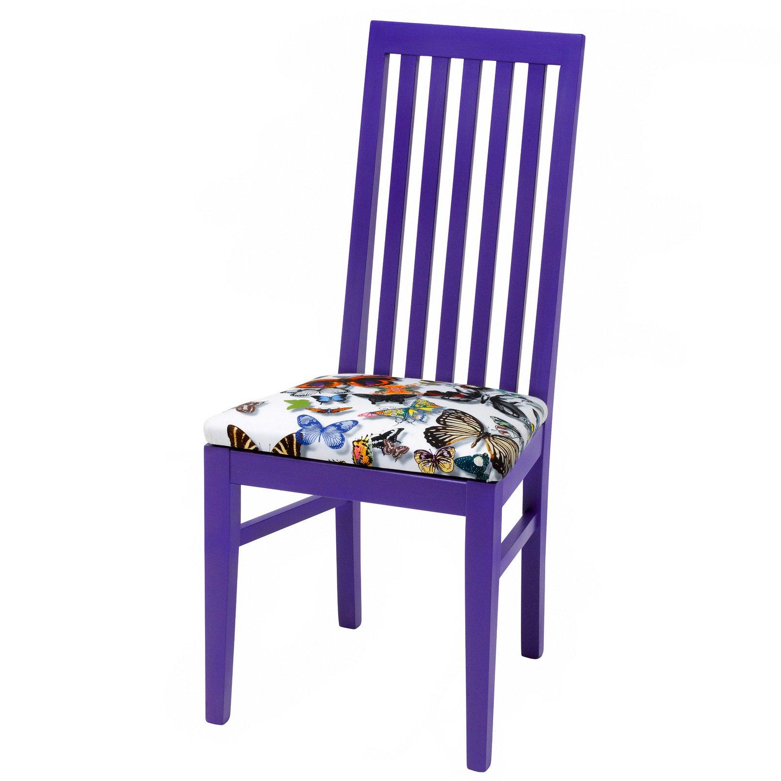 Beautiful Purple Butterfly Chair