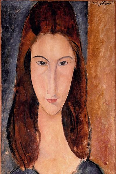 Amedeo Modigliani Art Jeanne Hébuterne