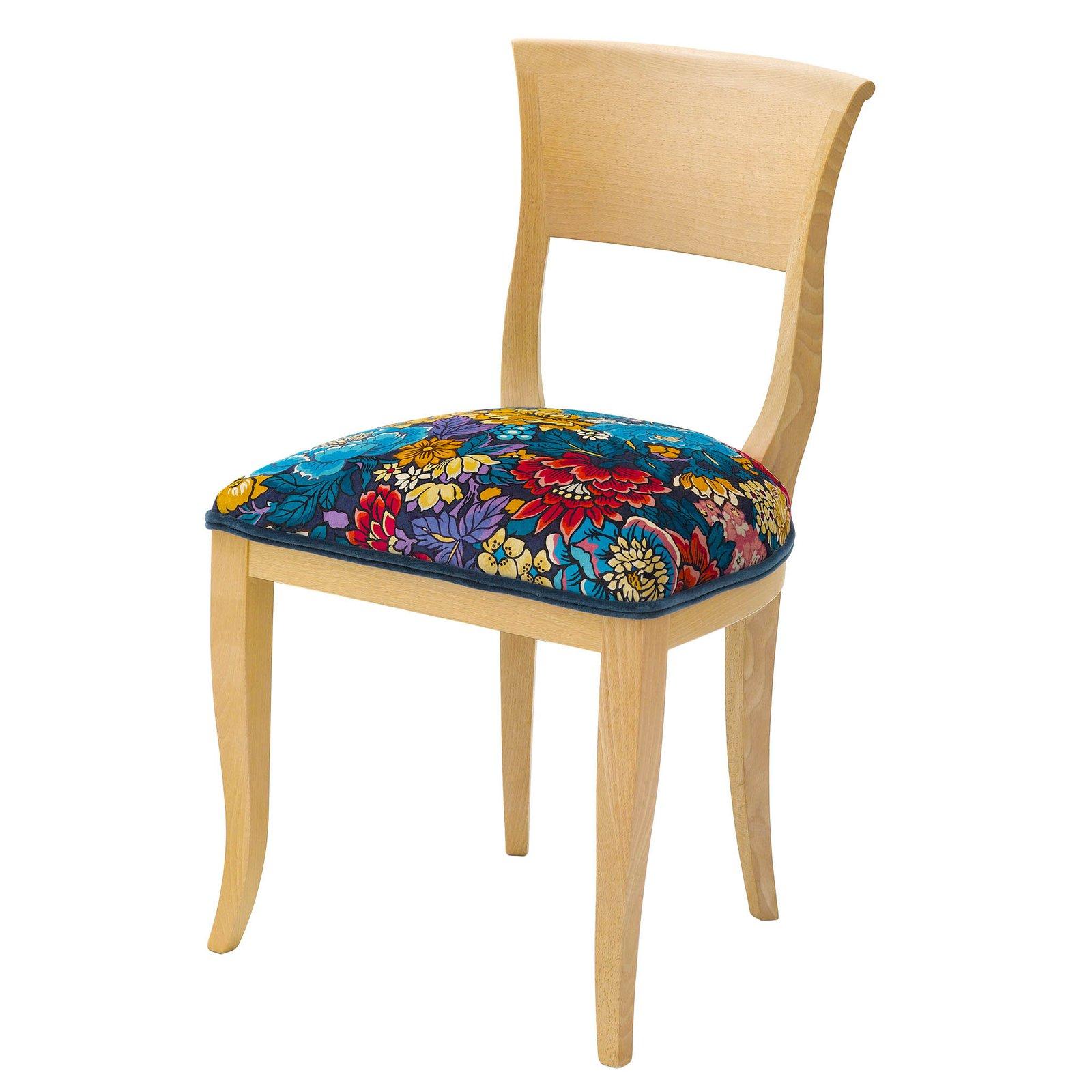 Mid century modern upholstered chair