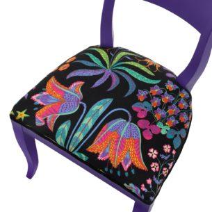 Purple Chair top