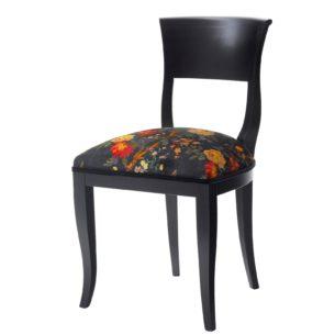Black Mid-Century Modern Chair