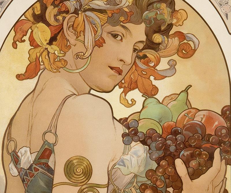 Alphonse Mucha Art Muse