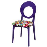 Purple Contemporary Chair