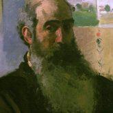 Camille Pissarro art self-portrait