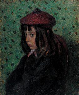 Portrait of Felix Pissarro 1881 by Camille Pissarro 1830-1903