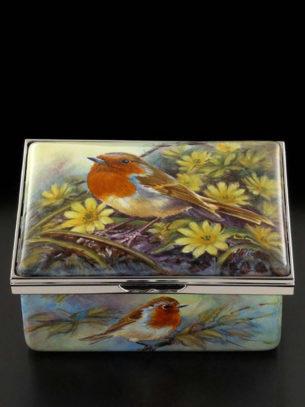 Ceramic Box With Lid