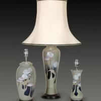 Grey Ceramic Lamps