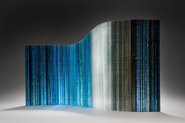 Wave Glass Art