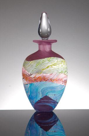 Blown Glass Perfume Bottles