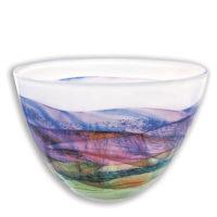 Coloured Glass Bowl