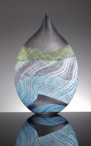Teardrop Glass Vase