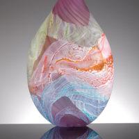 Teardrop Glass Vases