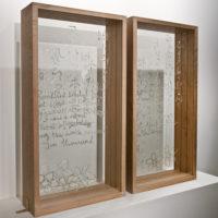 Framed Glass Art