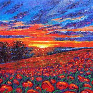 Impressionist Art Painting Saskia Skoric