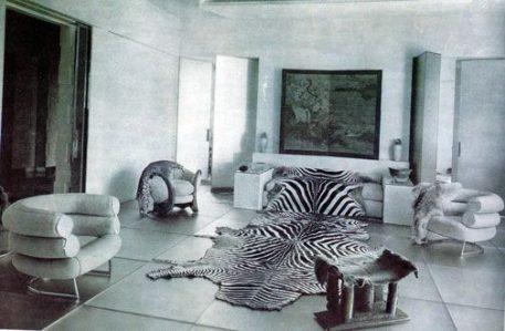Eileen Gray House interior