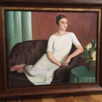 Meredith Frampton 'Marguerite Kelsey'