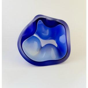 Sky Blue Handmade Glass Ornament