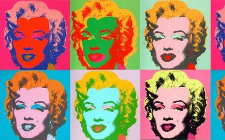 Andy Warhol Art Marilyn