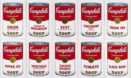 Andy Warhol Art Soup
