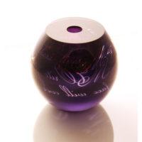 Artistic Glass Vessel