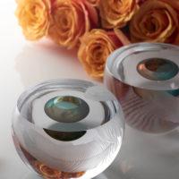 Clear Glass Vessel