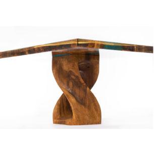 Glass Art Coffee Table