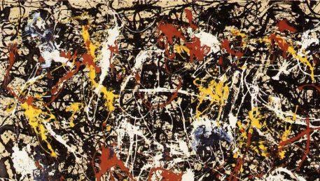 Jackson Pollock Art Convergence