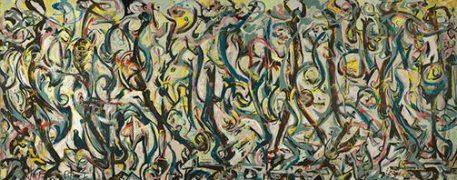 Jackson Pollock Art Mural
