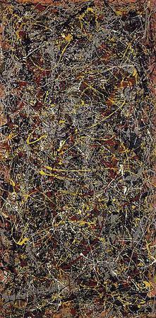 Jackson Pollock Art No 5