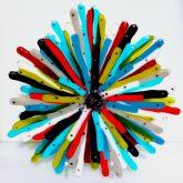 Colourful Sculptures