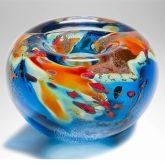 Ornamental Glass Bowl