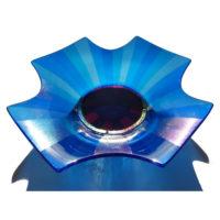Blue Platter 'Kaleidoscope' by Laura Hart