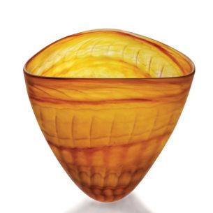 Triangular Bowls 'Ribb' By Thomas Petit